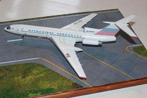 "TU 154M "" RA-85755 ""  Murmansk Airlines -5"