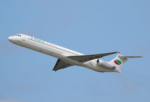 "MD 82 "" LZ-LDN "" Bulgarian Air Charter -1"