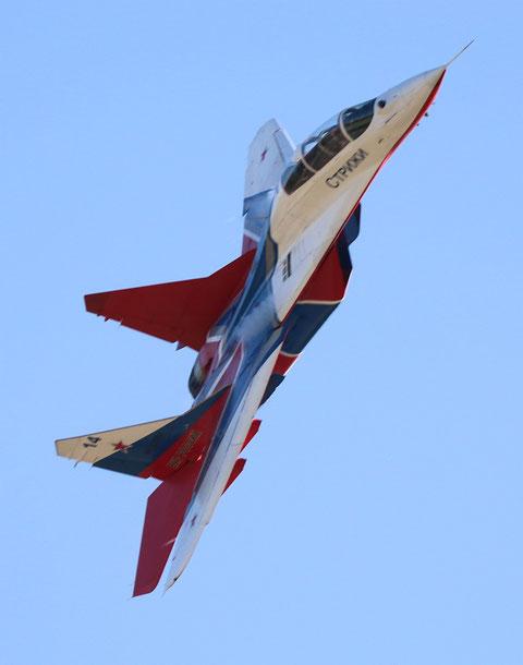 """MiG 29UB """" 14 """"  RF-92804  Воздушно-космические силы ( ВКС ) Россия -6"""