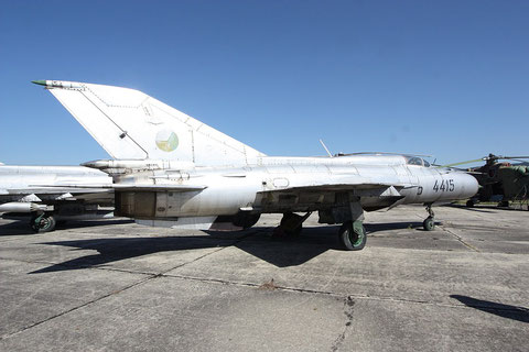 "MiG 21PFM  "" 4415 ""  Slovak Air Force -3"
