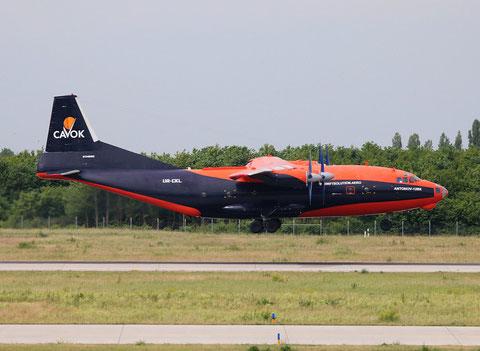 """AN 12BK  """" UR-CKL """" Cavok Air -2"""