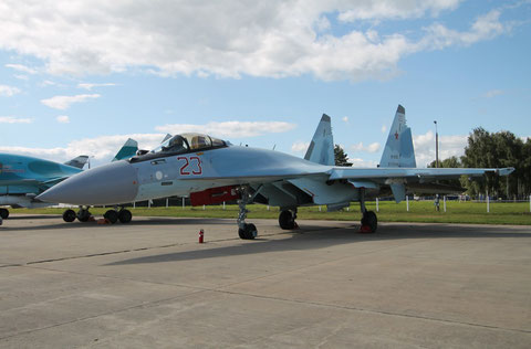 "SU 35S "" 23 ""  RF-81763  Russian Air Force -2"
