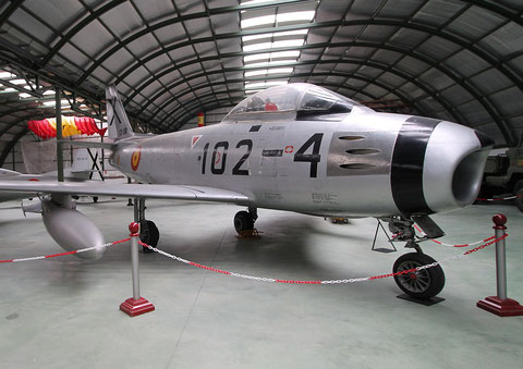 "F 86 Sabre "" C5-58 ""  Spanish Air Force -2"