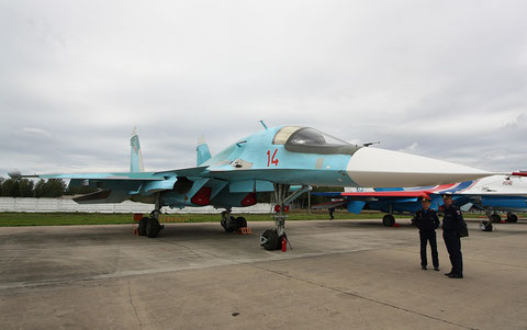 "SU 34 "" 14 ""  RF-95842   Russian Air Force -1"