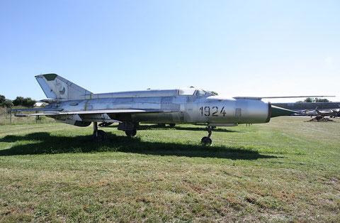 """MiG 21R  """" 1924 """"  Slovak Air Force -2"""