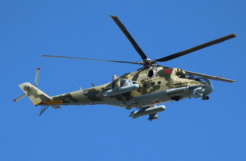 "MI 24P "" 25 ""   RF-92543  Russian Air Force -2"