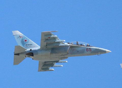 """JAK 130 """" 65 """" RF-81664 Воздушно-космические силы      ( ВКС ) Россия -1"""