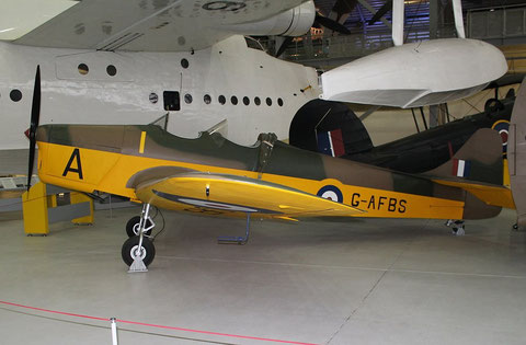 Miles Magister G-AFBS-3