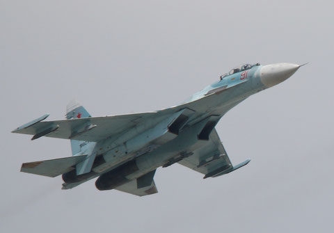 "SU 27SM "" 91 ""  RF-95262  Russian Air Force -1"