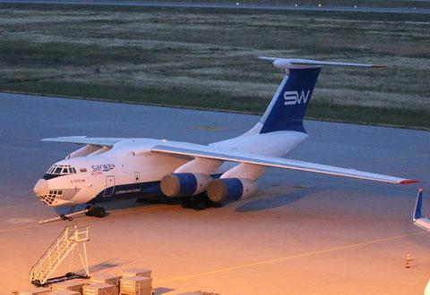 "IL 76TD-90SW "" 4K-AZ100"" Silk Way Airlines -5"