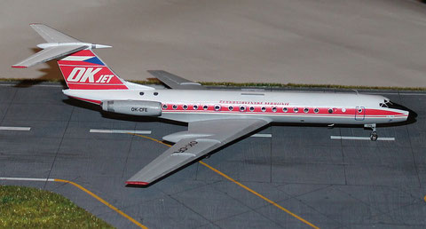 """TU 134A  """" OK-CFE """"    CSA   Zvesda 1/144 -5"""