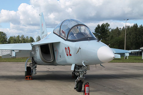 "JAK 130 "" 02 "" RF-44450  Russian Air Force -4"
