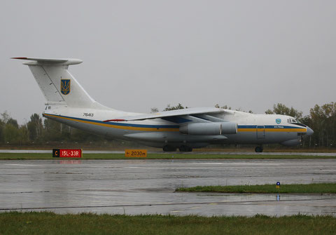 "IL 76MD "" 76413 "" Ukrainian Air Force -2"