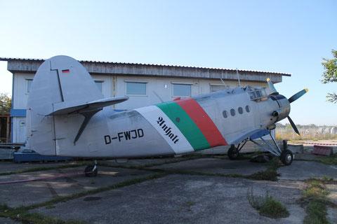 """AN 2  """" D-FWJD """"  Anhaltischer Verein für Luftfahrt e.V -2"""