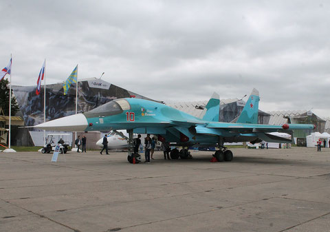 "SU 34 "" 10 ""  RF-95841   Russian Air Force -2"