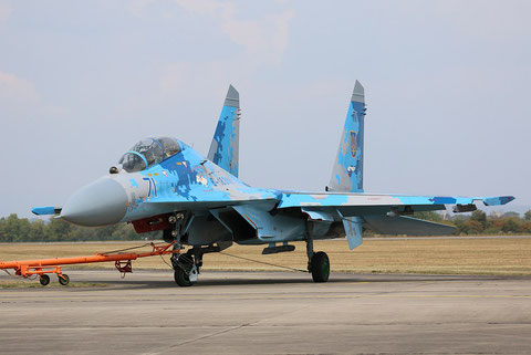 "SU 27UB "" 71 "" Ukrainian Air Force -4"