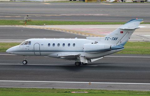 """Hawker 800XPi  """" TC-TAV """"  TAV Havacilik -1"""