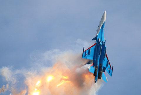 "SU 30SM "" 31 ""  RF-81702 Russian Air Force / Russian Knights -7"
