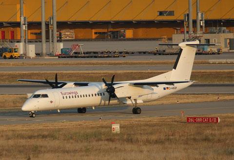 """DHC-8-402 Dash 8 """" D-ABQH """" Eurowings -1"""