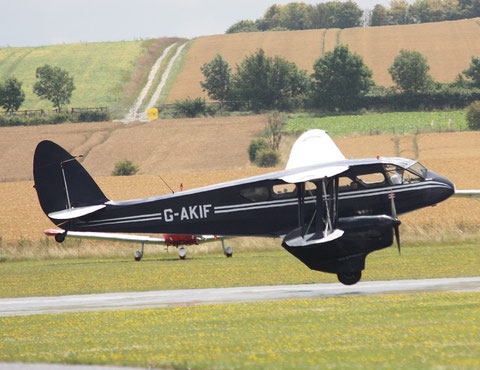 "De Havilland DH-89 Dragon Rapide  "" G-AKIF "" -1"