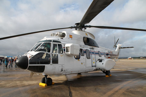 "Aérospatiale AS 332M1 Super Puma "" 402 23 "" SpainAF -1"
