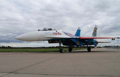 "SU 27P  "" 12 ""  Russian Knights / Russian Air Force -5"