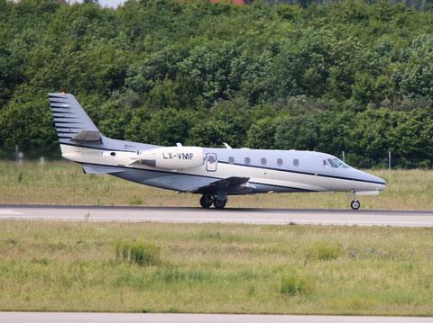 """Cessna 560XL Citation  """" LX-VMF """" Luxaviation -1"""