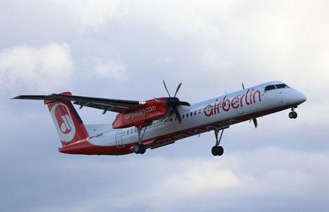 """DHC-8-402 Dash 8 """" D-ABQH """" Air Berlin -1"""