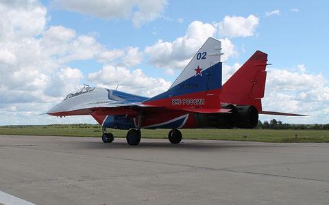 """MiG 29UB """" 02 """"  RF-91946  Воздушно-космические силы ( ВКС ) Россия -2"""