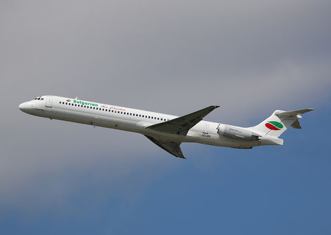 "MD 82 "" LZ-LDN "" Bulgarian Air Charter -2"