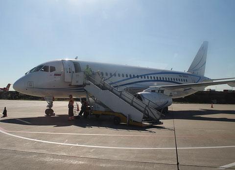"Superjet 100-95LR "" RA-89031 "" Gazpromavia -2"