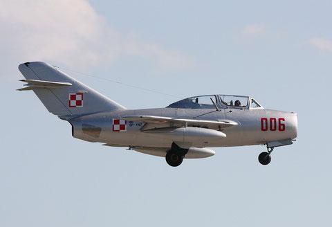 """MiG15 UTI SBLim-2 """" 006 """" ( SP-YNZ) Polish Air Force -6"""
