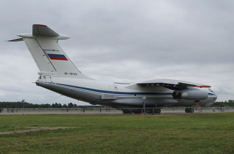 "IL 76MD "" RA-76743 "" Russian Air Force -3"