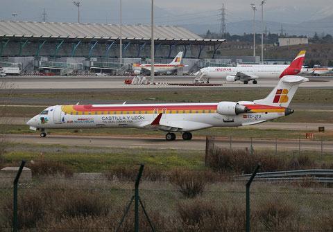 """CRJ-900 """" EC-JTU """"  Air Nostrum -1"""