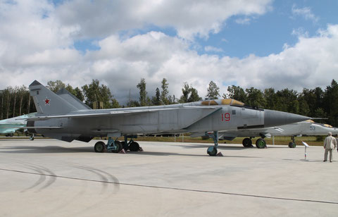 "MiG 31A "" 19 "" Russian Air Force -1"