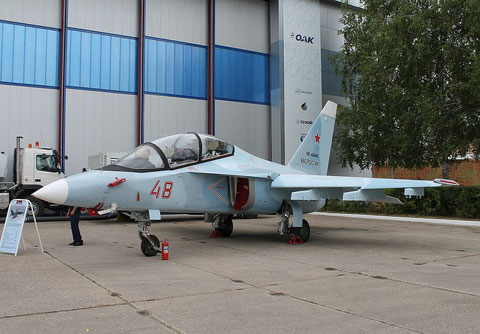 "JAK 130 "" 48 "" RF-44445  Russian Air Force -2"