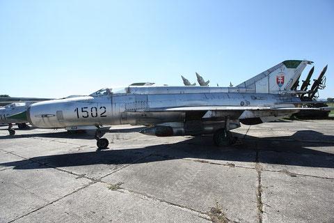 """MiG 21R """" 1502 """" Slovak Air Force -2"""