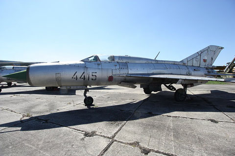 "MiG 21PFM  "" 4415 ""  Slovak Air Force -2"