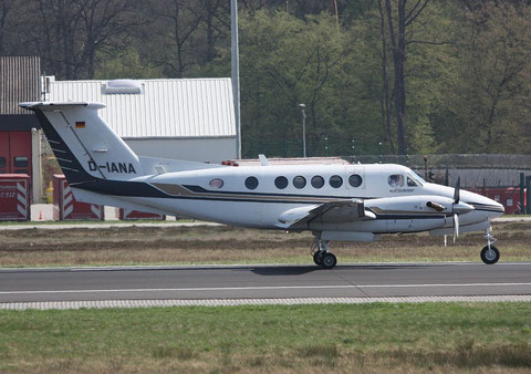 "B200 Super King Air "" D-IANA ""-2"