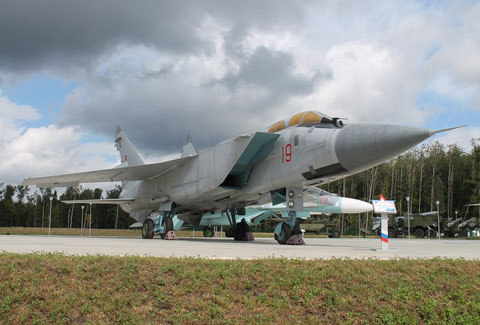 "MiG 31A "" 19 "" Russian Air Force -2"