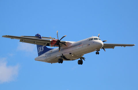 "ATR 72-212A(600) "" OY-JZC ""  SAS Scandinavian Airlines -1"