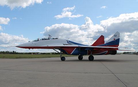 """MiG 29UB """" 02 """"  RF-91946  Воздушно-космические силы ( ВКС ) Россия -1"""