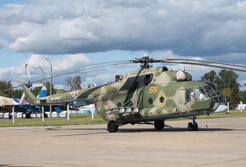 """Mi 8MT """" 55 """" RF-06057  Russian Air Force -1"""