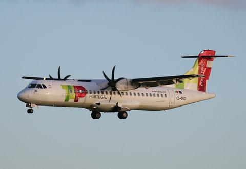"""ATR 72-212A (600) """" CS-DJD """"  TAP Express -1"""