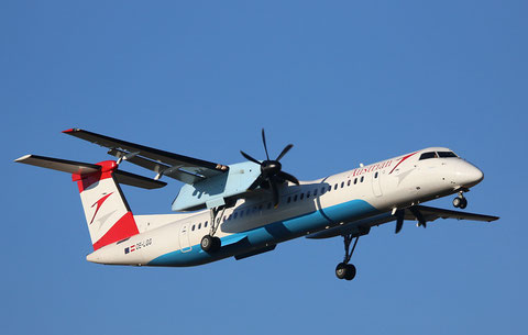 "Dash 8-402 "" OE-LGG "" Austrian Arrows -1"