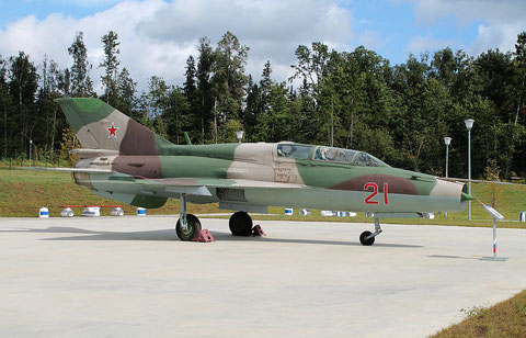 "MiG 21UM  "" 21 ""  Russian Air Force -3"
