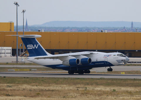 "IL 76TD-90SW "" 4K-AZ100"" Silk Way Airlines -6"