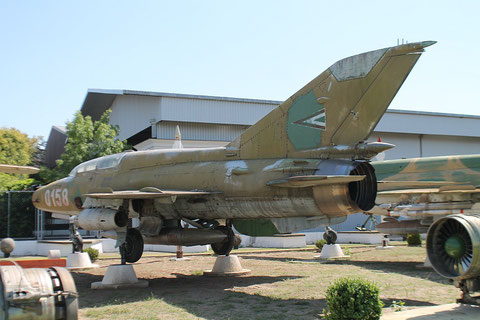 "MiG 21UM  "" 0158 ""  Hungarian Air Force -2"
