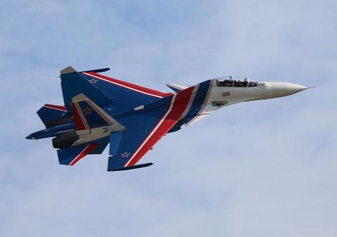 "SU 30SM "" 31 ""  RF-81702 Russian Air Force / Russian Knights -6"