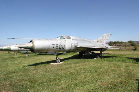"MiG 21PFM "" 7908 ""  Czech Air Force -1"